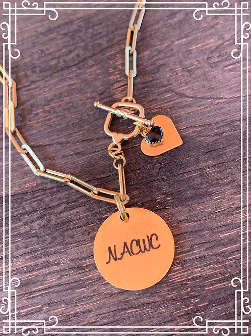 NACWC Paper Clip Necklace