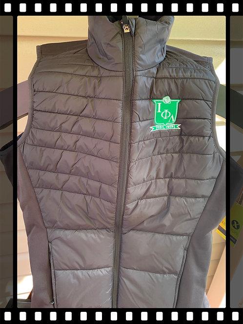 Iota Black Puffer Vest