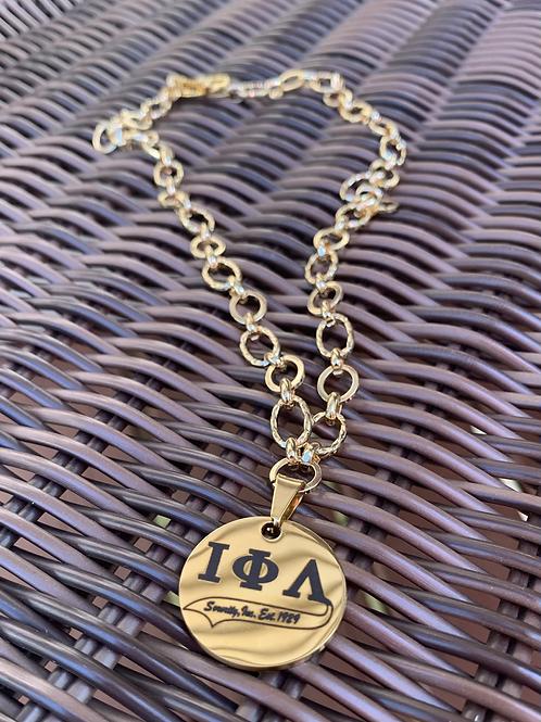 Iota Charm Necklace