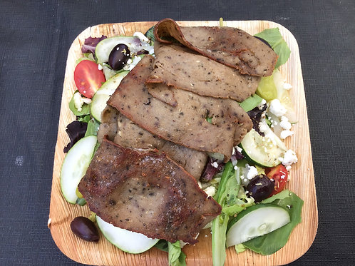 Greek Salad With Meat