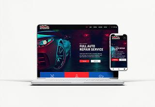Auto repair template