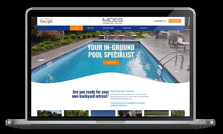 Pool construction websites in Grand Rapids
