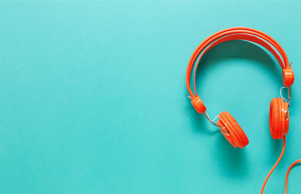 Headphones Background