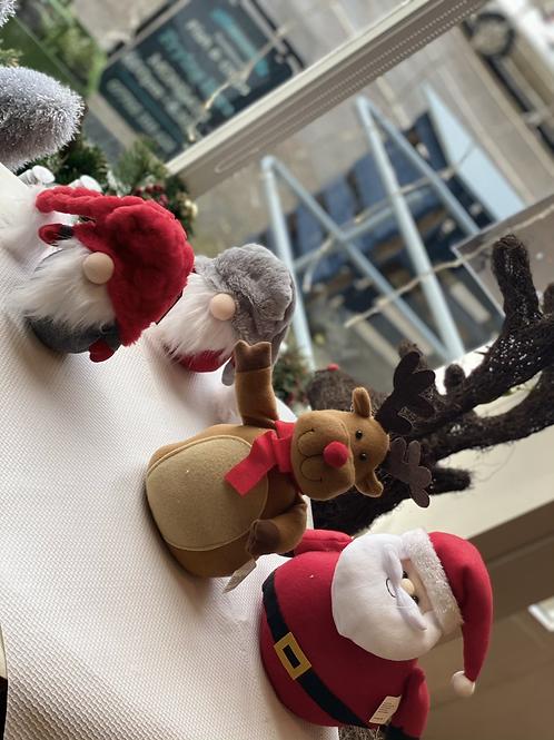 Santa doorstops