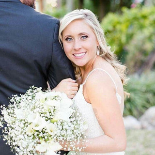 Bride's Hair and Makeup