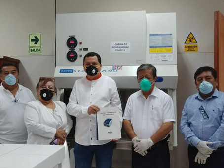 Gobierno regional de Piura podrá obtener resultados de COVID-19 en cinco horas
