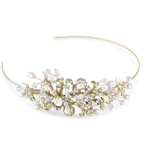 Kensington Side Tiara Gold (Garland) RRP: £95.00
