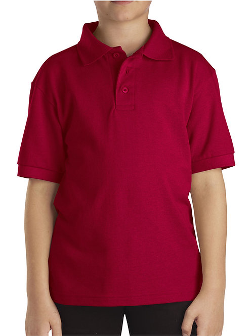 HFAA RED Polo Short Sleeve