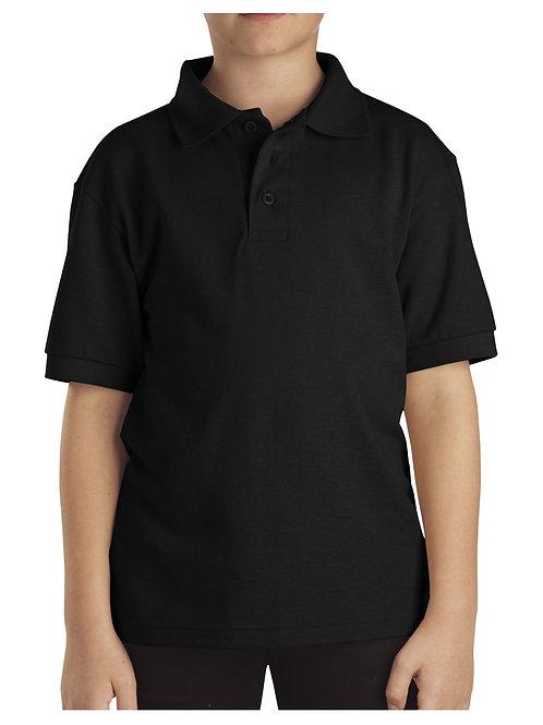 HFAA BLACK Polo Short Sleeve