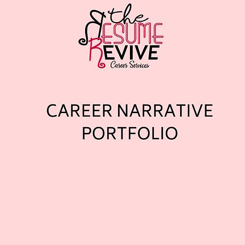 Career Narrative-Portfolio
