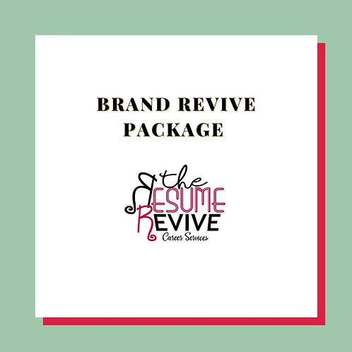 Brand Revive Package