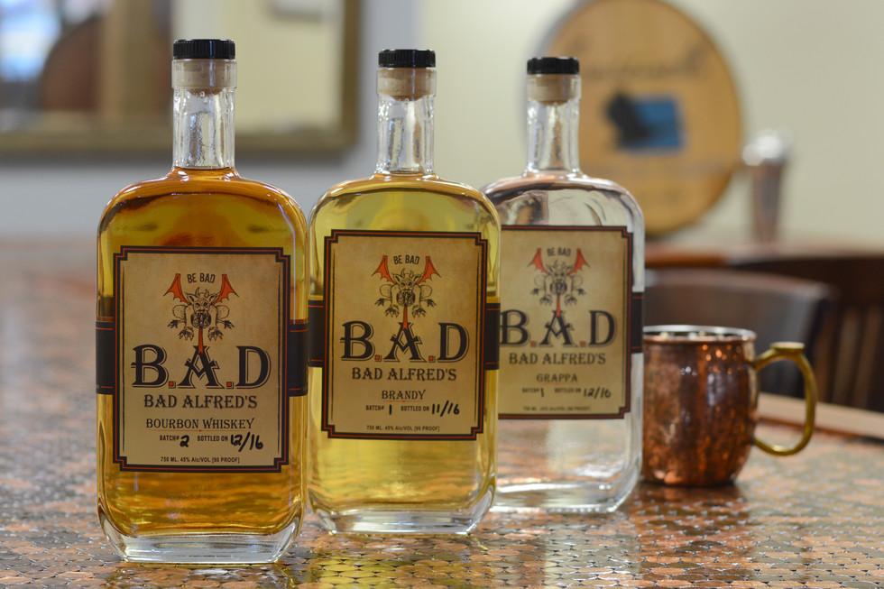 Bad Alfred Distilled Spirits