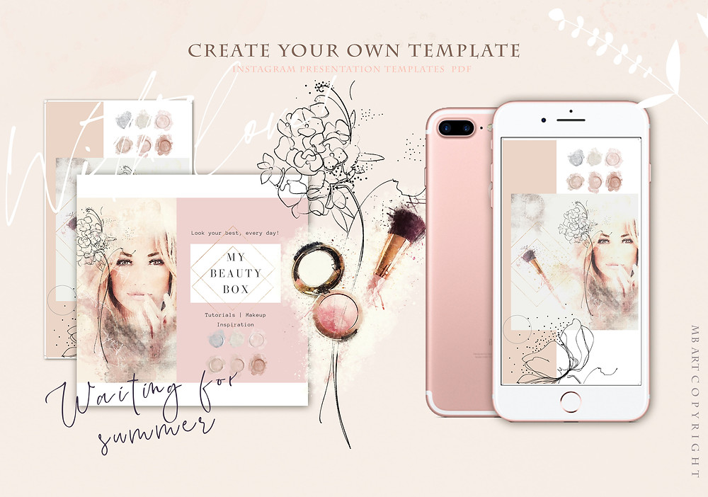 Ready made template by CANVA