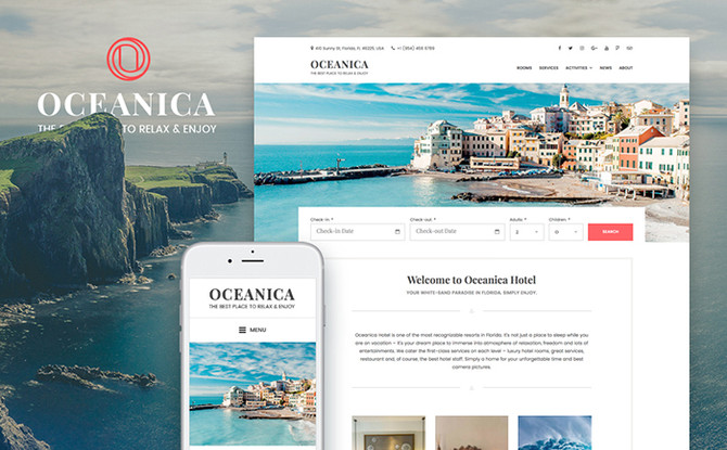 10 Premium WordPress Themes to Rock With Your Website in Summer 2017