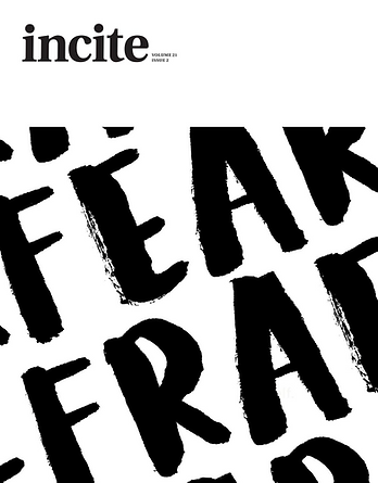 cover of incite volume called fear
