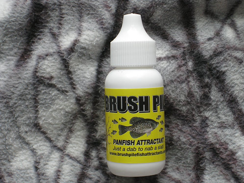 Brush Pile Panfish Attractant-Eye Dropper Dispenser