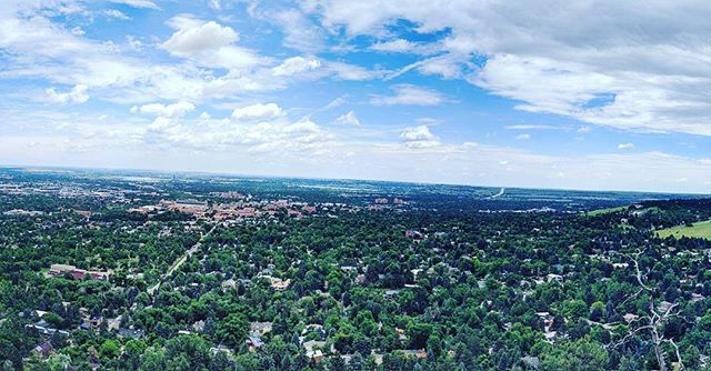 View from a Virtual Cache overlooking Boulder Colorado! #geowoodstock #geocaching #virtualcache #hon