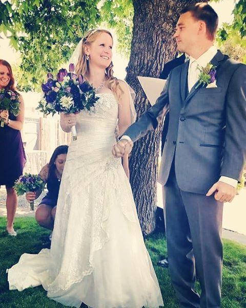 I got to marry my best friend today! #weddingday #wedding #mrandmrs #aprilmike61116