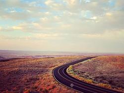Petrified Forest National Park, Honeymoon Road Trip #honeymoon #roadtrip #petrifiedforest #paintedde