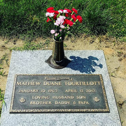 Today we visited Daddy with Mom, and Casey. It is hard to believe it has been 4 years since he left