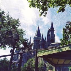 Hogwarts! #hogsmead #universalstudios #flightofthehippogriff