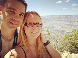 Honeymoon Road Trip! Just a stop by The Grand Canyon! #honeymoon #roadtrip #grandcanyon #husbandandw