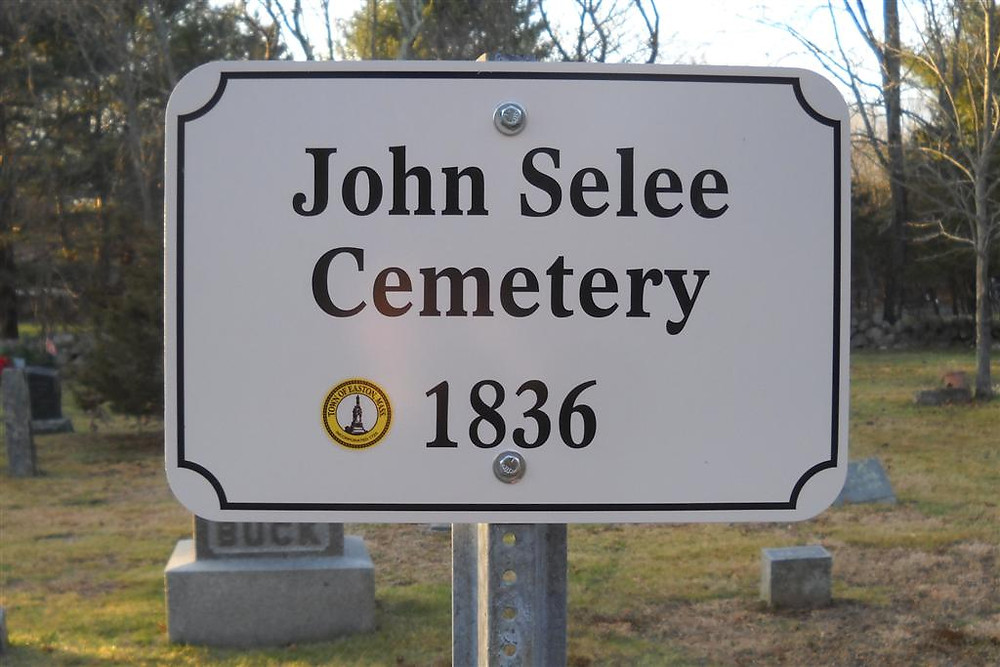 John Selee Cemetery where Thankful is burried