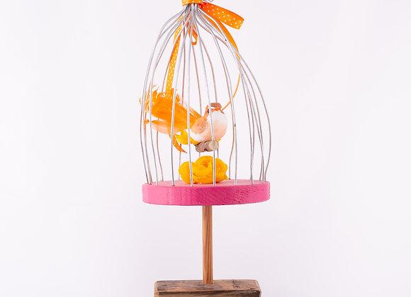 Paradisvogel Tischdeko