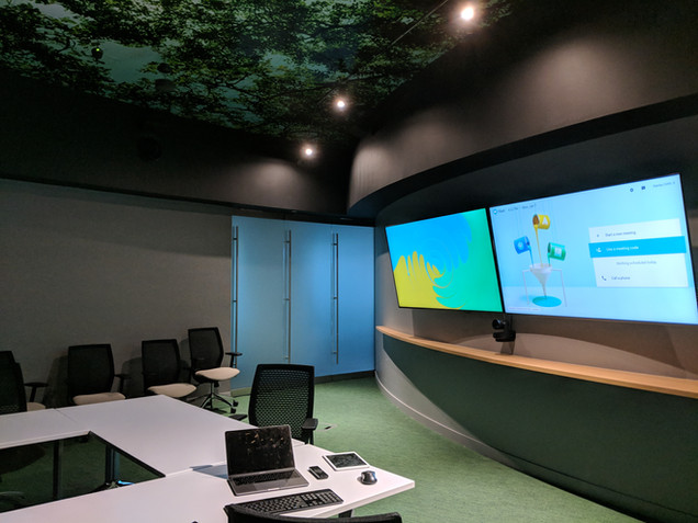 Clever AV - Audiovisual Solution - Large Conference room