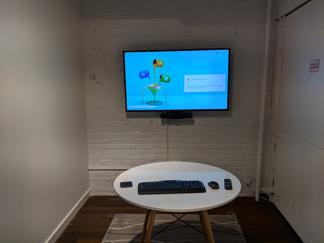 Clever AV - audiovisual solutions - huddle space