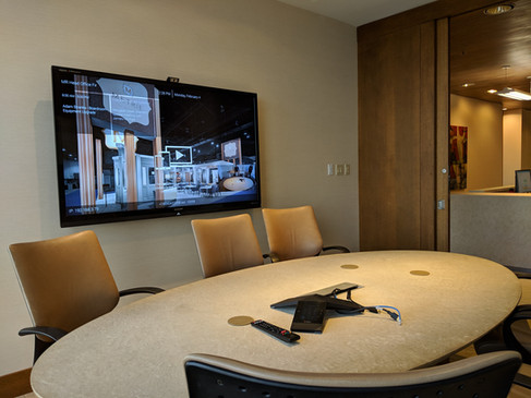 Clever AV - Audiovisual solutions - small video conference room