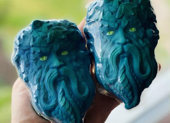 Huge Green Man Bath Bomb - Twisted Mermaid