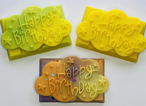 Happy Birthday Snap Bar Wax Melt