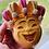 Thumbnail: Large Happy Jester Bath Bomb - Holiday Romance