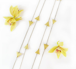 Cascading Golden Triangle Necklaces.