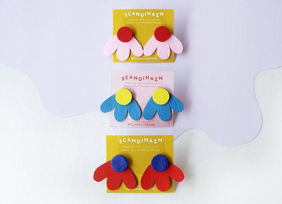 Colourful Petal Ear Jackets