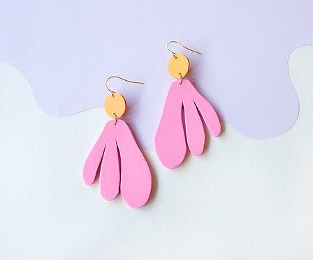 Algas Earrings - Rosé + Creamsicle (Matching)