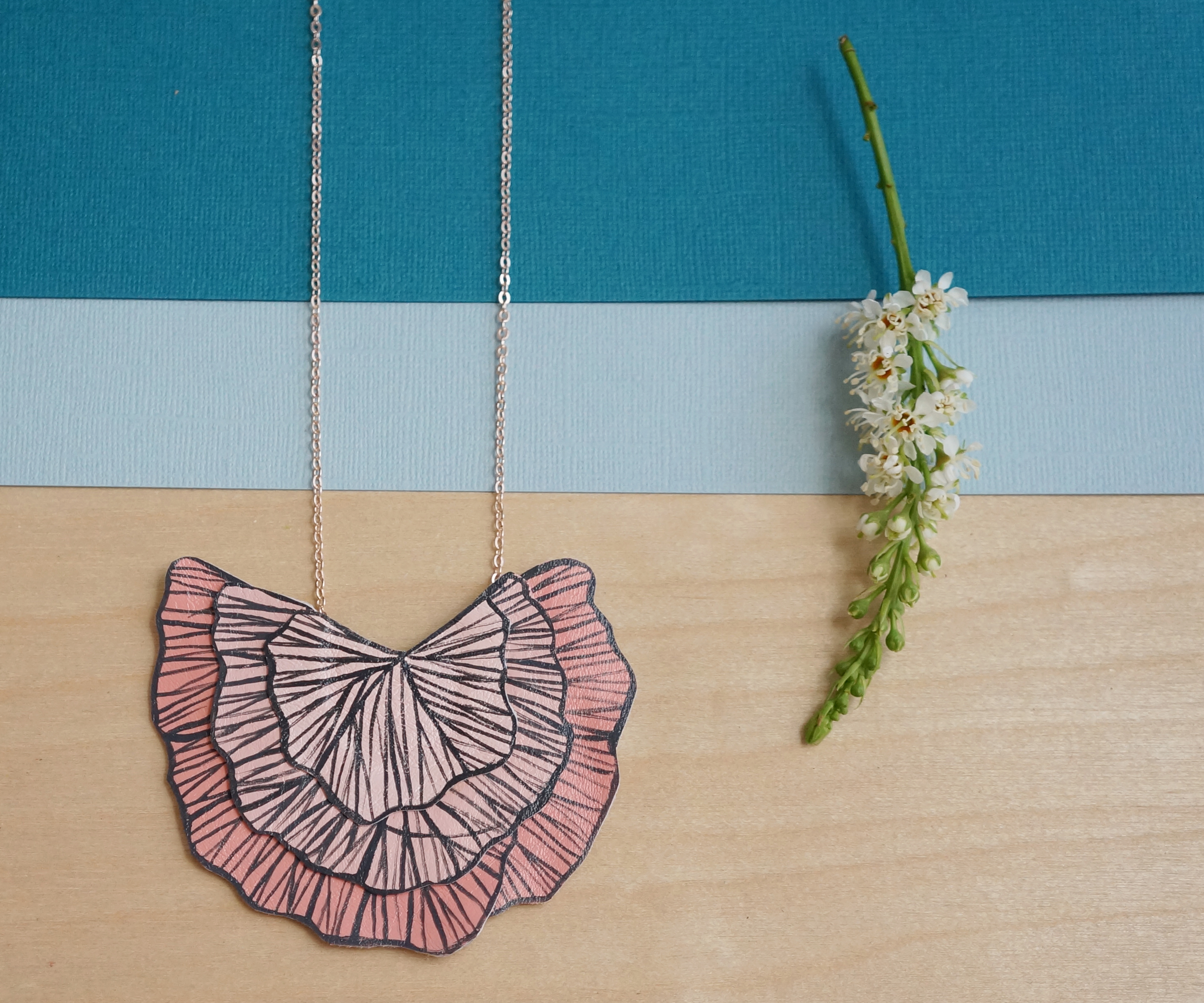 Radial Bloom Necklace