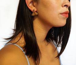 Leather Fishtail Ear Jackets