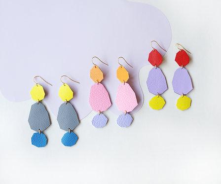 Stepping Stones Colourblock Earrings
