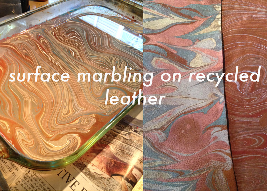 Marbling Tutorial on Craftster.
