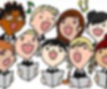 childrens choir clipart
