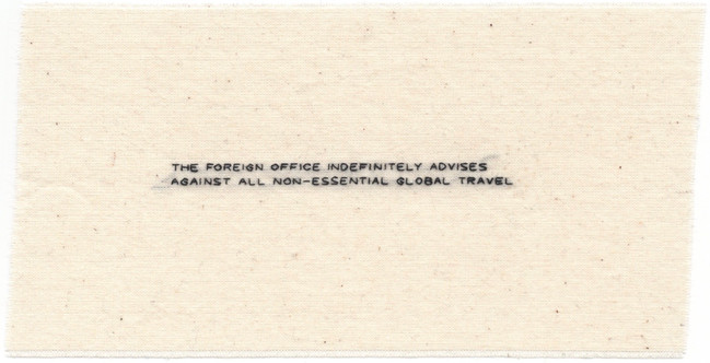 19. The Foreign Office Advises Against G