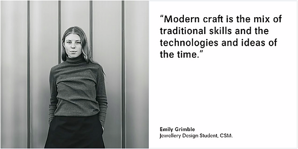 Loewe, Central Saint Martins BA (Hons) Jewellery Design Student, Modern Craft, Caroline Broadhead, Ramon Puig Cuyàs