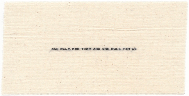 40. One Rule For Them and One Rule For U