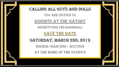 KNIGHT AT THE GATSBY - March 2nd