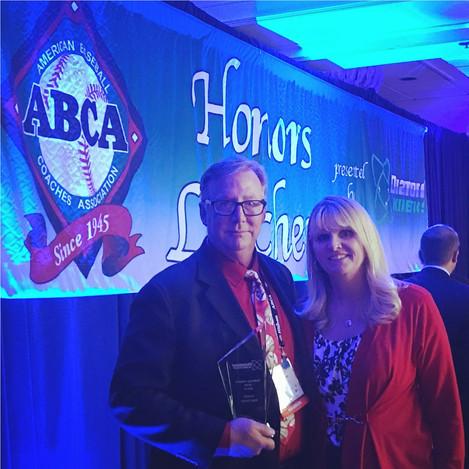 ABCA/Diamond Kinetics Honor Foothill Baseball