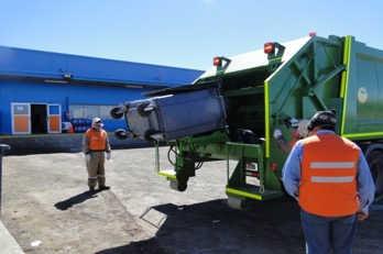 Carguio de Residuos Organicos de Casino Faena