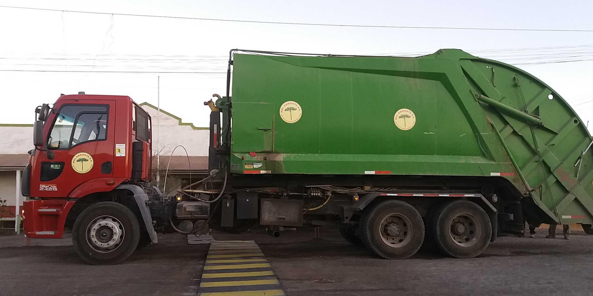 Compactadora de Residuos Organicos