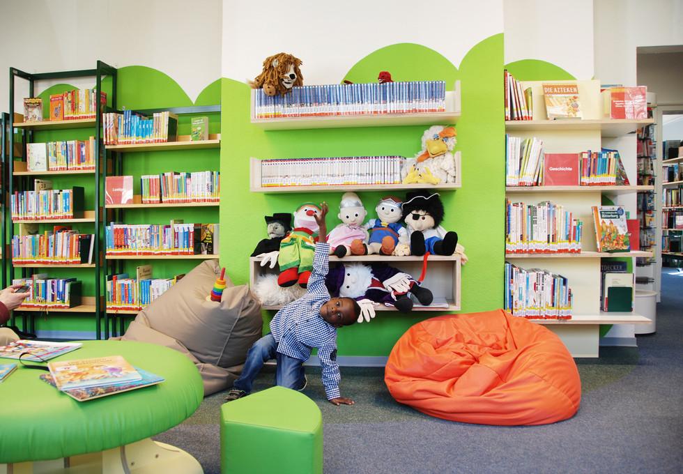 Kinderbereich Stadtbibliothek Brilon